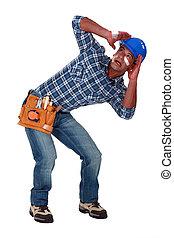 A traumatized tradesman