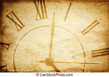vintage time - special toned great for your design and...