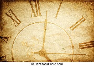 vendange, temps