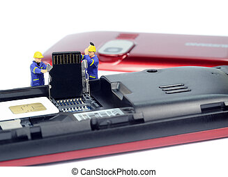Mobile phone upgrade repair