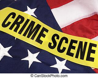 Crime Scene In America, American Fl