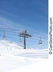 A ski lift