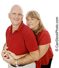 Mature Couple In Love - Happy mature couple in love....