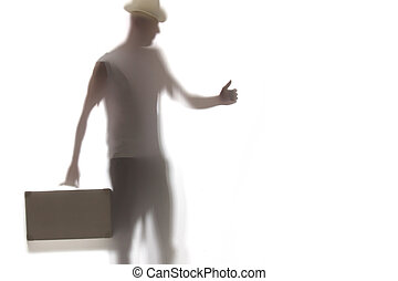 Picture of man with briefcase