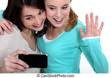 Portraying teenagers