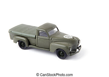 Toy pick-up truck