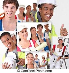 bâtiment, professionnels