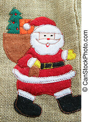 Canvas Santa bag