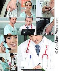 saúde, profissionais