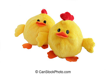 Chicken soft toys