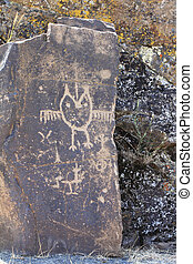 Petroglyphs - Native American Petroglyphs at Horse Thief...