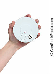 A smoke detector