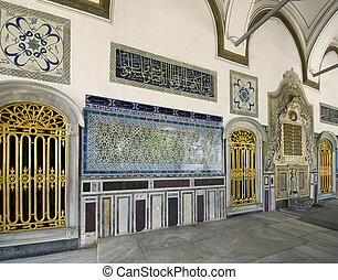 inside the harem of Topkapi