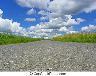 Country Road - Image of a country road
