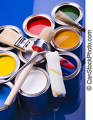 Paint and brush - Let your world be colourful!