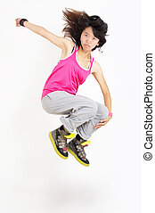 Hip-hop jumps