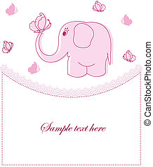Beautiful childrens card for the gi