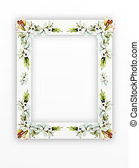 Tuberose Flowers on Vertical White - A Beautiful Tuberose...