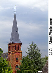 Church - A church in small city Saarburg, Rheinland-Pfalz,...