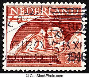 Postage stamp Netherlands 1944 Pilot - NETHERLANDS - CIRCA...