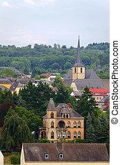 City Saarburg - Smal city Saarburg, Rheinland-Pfalz,...