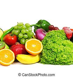frutas, vegetales