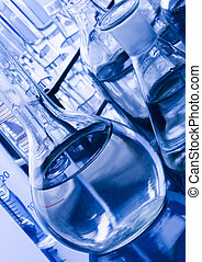 Beakers - A laboratory is a place where scientific research...