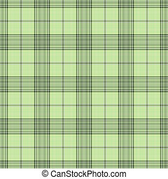Seamless Soft Green Plaid - Soft plaid in shades of green