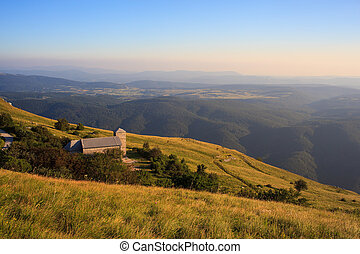 St. jerome church in the Nanos mountain - View of St. jerome...