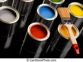 Colorful paint - Let your world be colourful!