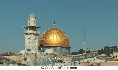 gold dome - Jerusalem - Dome of the Rock