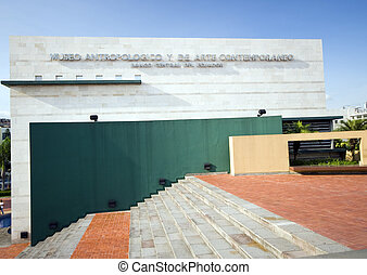 museum of anthropology and contemporary art guayaquil...