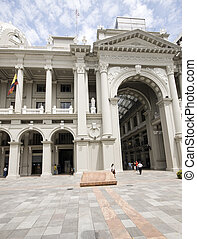 simon bolivar palace of government guayaquil ecuador - simon...