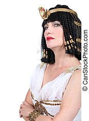 femme, Cleopatra, déguisement