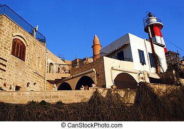 Travel Photos of Israel - Jaffa - Jaffa lighthouse in Tel...