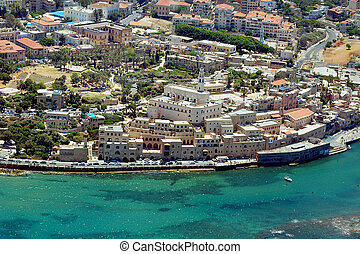 Travel Photos of Israel - Jaffa - Ariel Photography of...