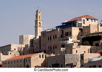 Travel Photos of Israel - Jaffa - St. Peter's Church, from...