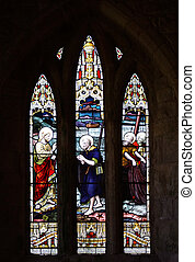 A Stained Glass Window / Matthew 4:19