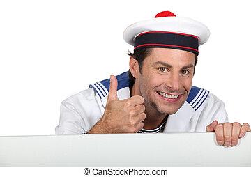 francês, marinheiro