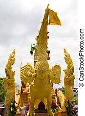candle festival in Ubonratchathani Thailand