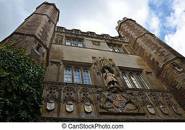 Front of St Johns College Cambridge