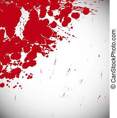 Red splash background