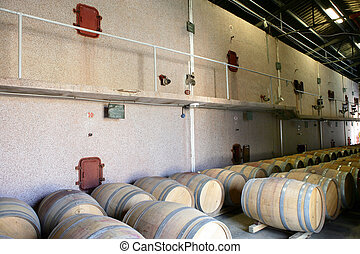 Wine storage facility