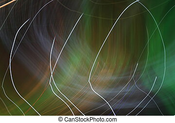 abstract colorful night lights