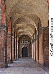 Antique Arcade in Bologna Italy