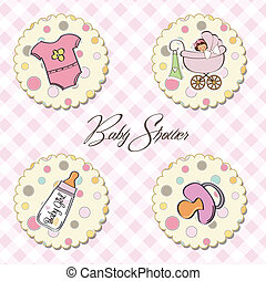 cartoon baby girl items collection