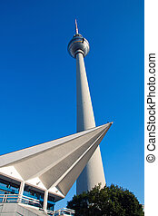 Television tower in Berlin - The famous Television tower in...