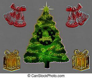 3D Christmas Card