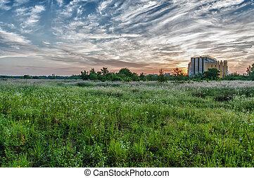 hdr landscape - hdr image of a landscape