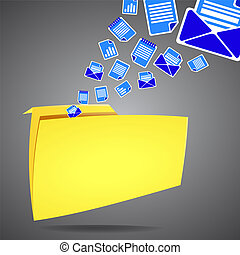 Documents folder to store the data For the background vector...